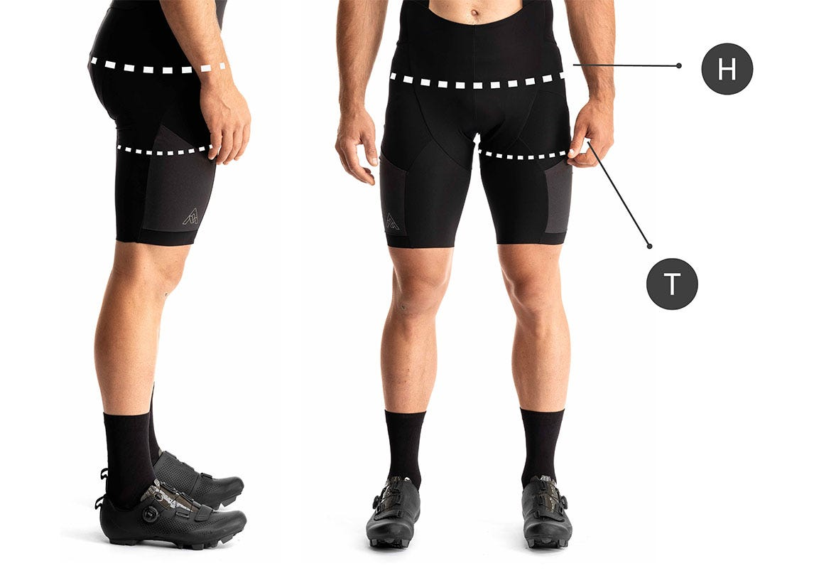 How to Measure for Mens Chamois