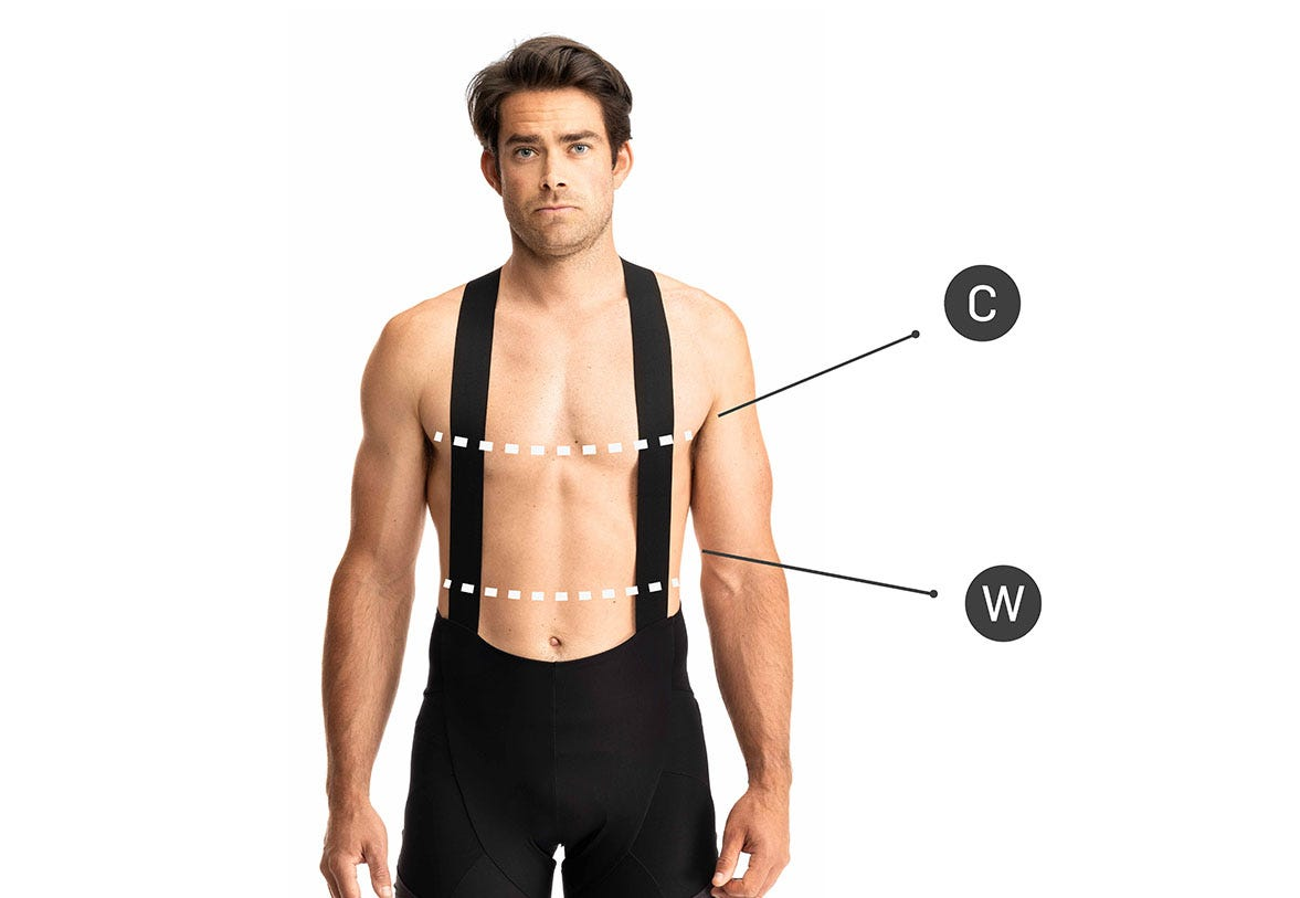 How to Measure for Mens Tops