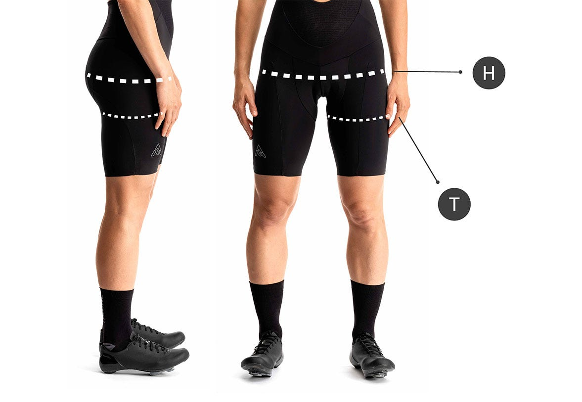 How to Measure for Womens Chamois