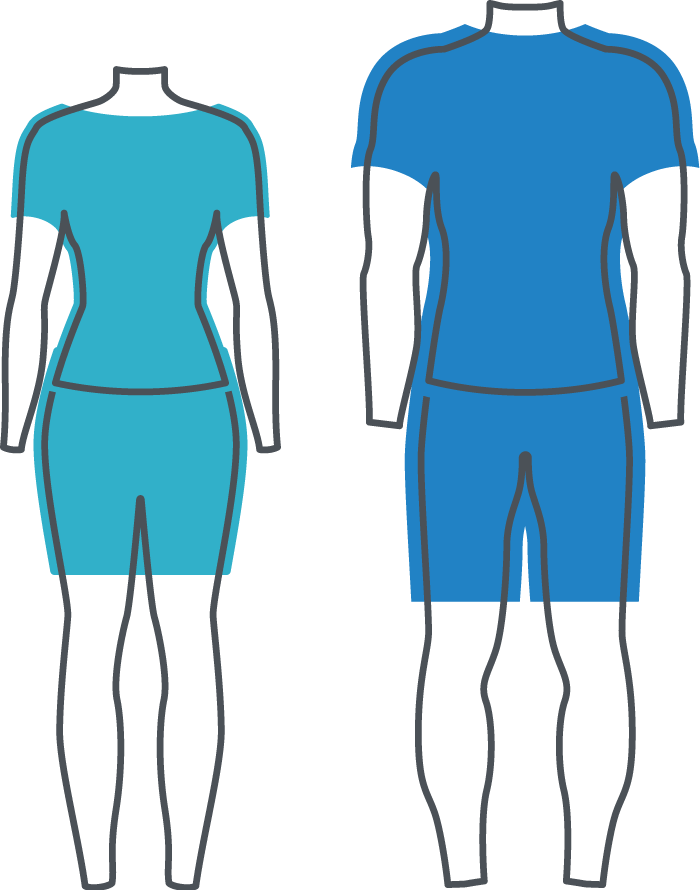 Relaxed Fit Diagram